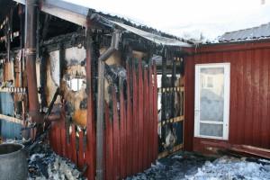korstna läbiviik põhjustas tulekahju